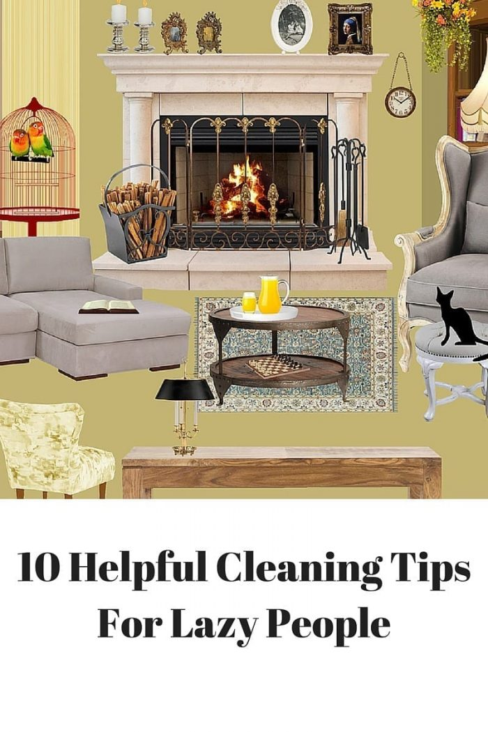 10 Helpful Cleaning Tips For Lazy People