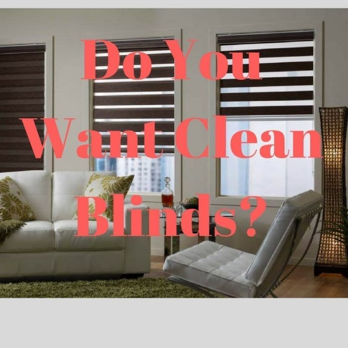 Best Ways To Keep Blinds Clean Blind Cleaning